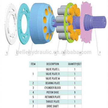 Yuken A40 A37 A56 A70 Hydraulic pump parts