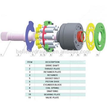 Hawe V30D250 Hydraulic pump spare parts
