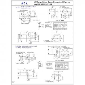 TAIWAN KCL Vane pump VQ425 Series VQ425-237-65-L-LAA