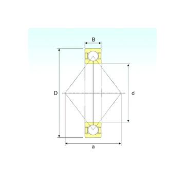 QJ 306 N2 M ISB Angular Contact Ball Bearings