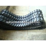 excavator rubber track,rubber track block:R55,R60,R75,PC90,R120,R130,R160,R210, R200LC,R220-5,R300-5,R335LC-7