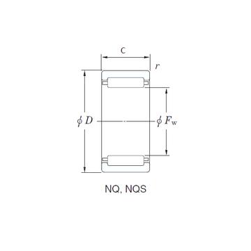 NQ30/30 KOYO Needle Roller Bearings